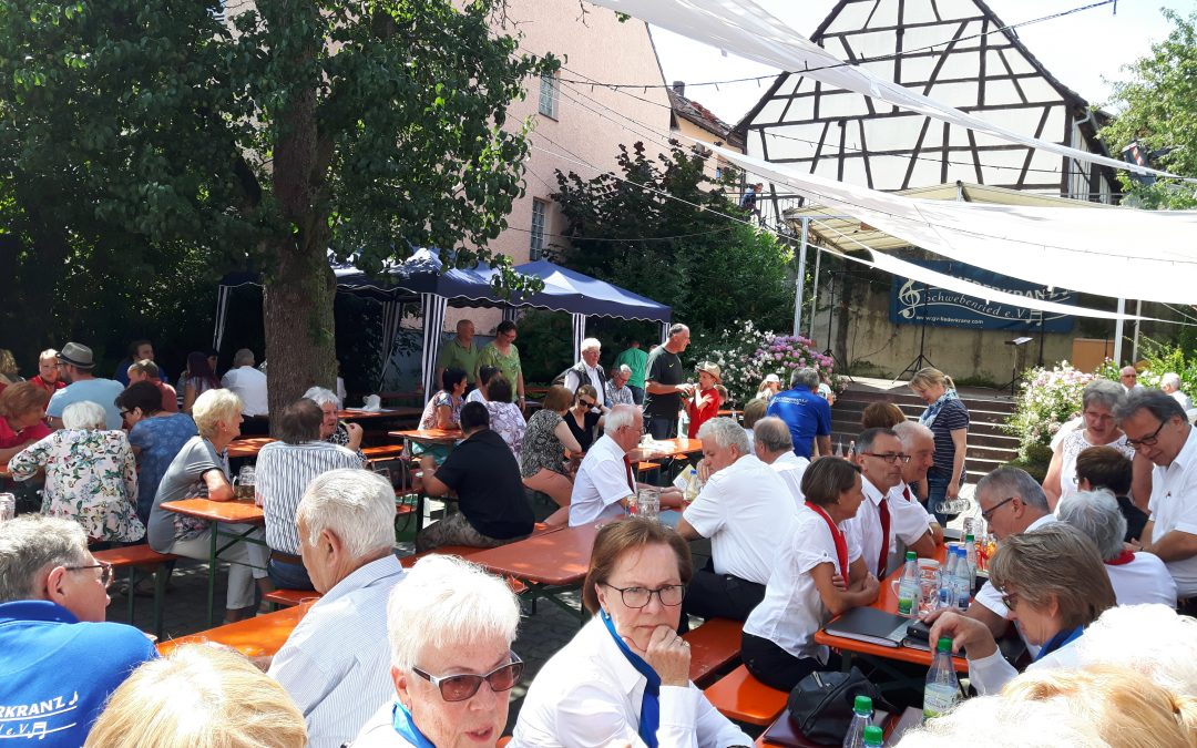 Sängerfest in Schwebenried